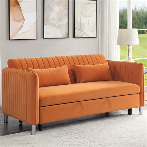 Purchase Orange Sofa Bed