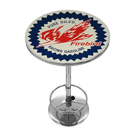 Pure Oil Wordmark Pub Table