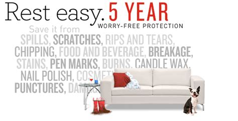 Pure Promise Furniture Protection Plan