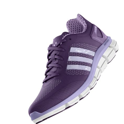 Purple Adidas Sneakers Womens