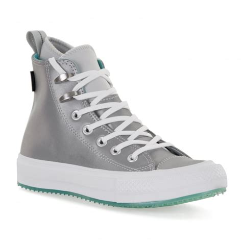 Purple Converse Waterproof Sneaker Boots Womens