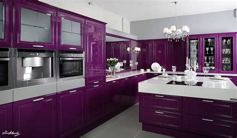 Purple Kitchen Images