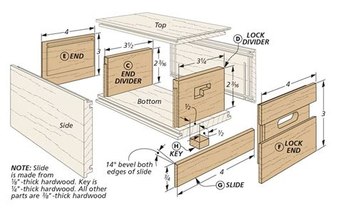 Puzzle Box Plans For Beginners