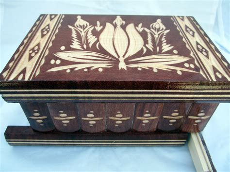 Puzzle Box With Hidden Keys