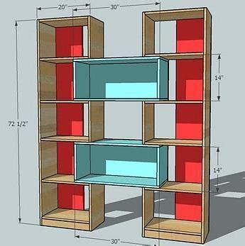Puzzle-Bookcase-Plans
