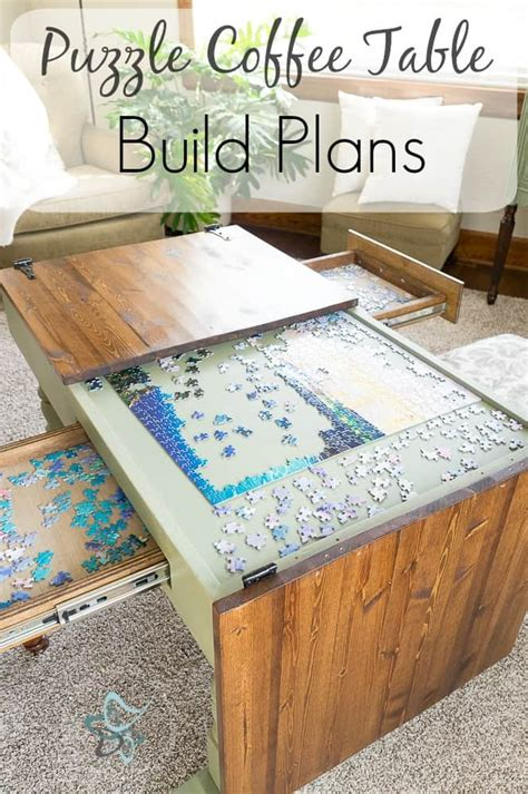 Puzzle-Coffee-Table-Build-Plans