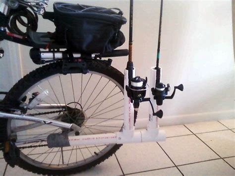 Pvc Bicycle Fishing Pole Holder Plans