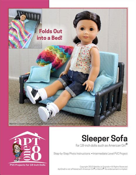 Pvc Doll Furniture Patterns For 18 Inch Dolls