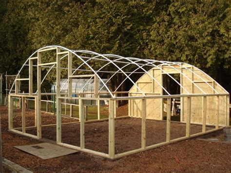 Pvc Framed Greenhouse's And Plans