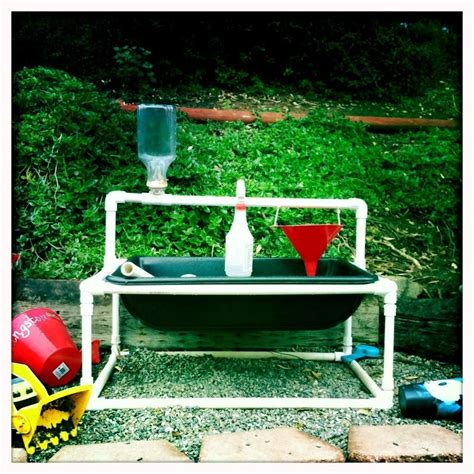 Pvc Water Table Diy Underneath