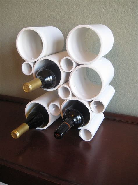 Pvc Wine Rack Diy