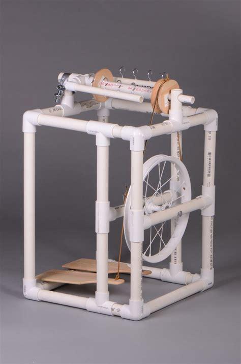 Pvc-Pipe-Spinning-Wheel-Plans