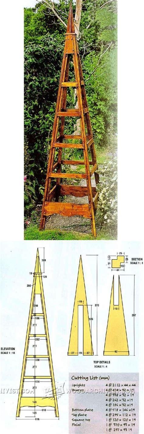 Pyramid-Trellis-Plans-Free