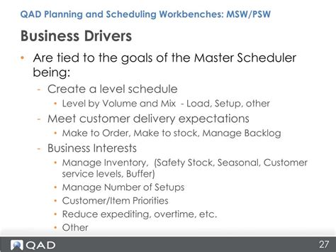 Qad-Planning-Scheduling-Workbenches