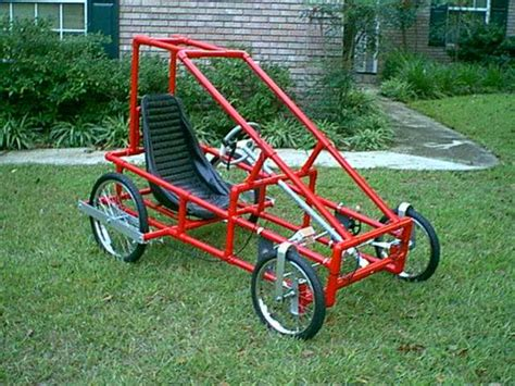 Quadricycle Frame Plans