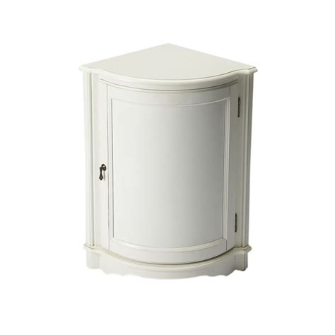 Quarter Round Cabinet With Drawers