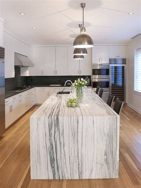 Quartz Kitchen Island Ideas