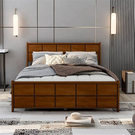 Queen Bed Headboard And Footboard Plans