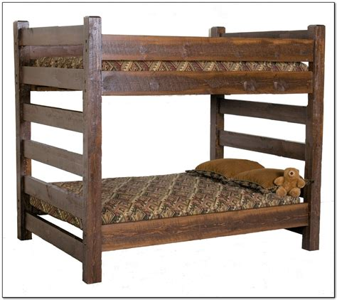 Queen Bunk Bed Plans Images