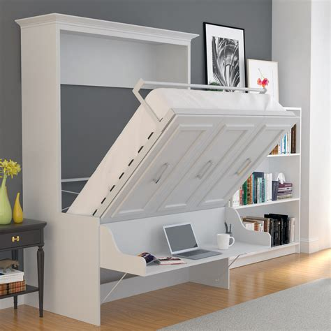 Queen Murphy Bed With Desk Diys