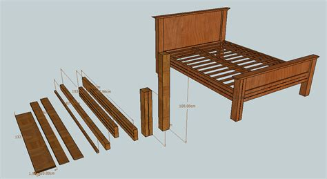 Queen Size Bed Slats Diy