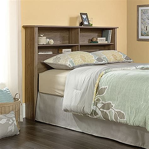 Queen Size Bookcase Headboard With Lights