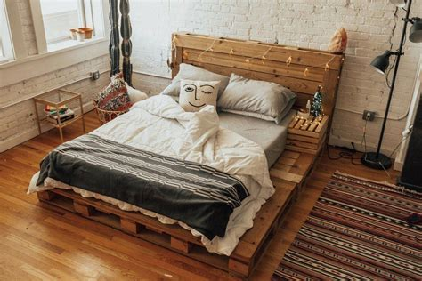 Queen Size Pallet Bed Plans