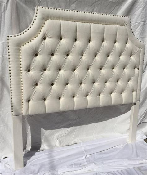 Queen Size Tufted Headboard DIY With Nails