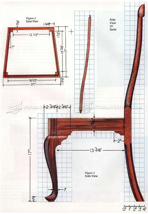 Queen-Anne-Chair-Plans