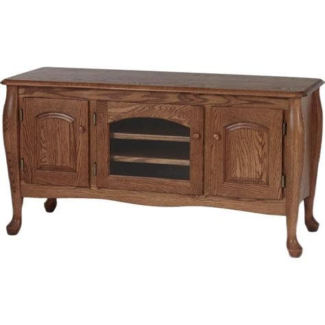 Queen-Anne-Tv-Stand