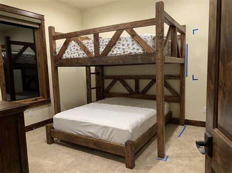 Queen-Over-King-Bunk-Bed-Plans