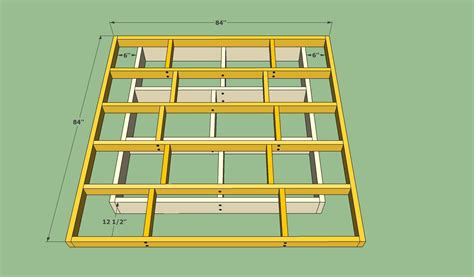 Queen-Size-Floating-Bed-Frame-Plans