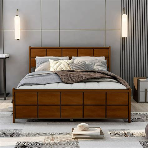 Queen-Size-Headboard-And-Footboard-Plans