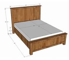 Best Queen bed frame plans