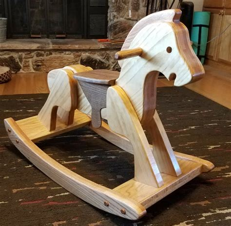 Quick And Easy Heirloom Rocking Horse Plans