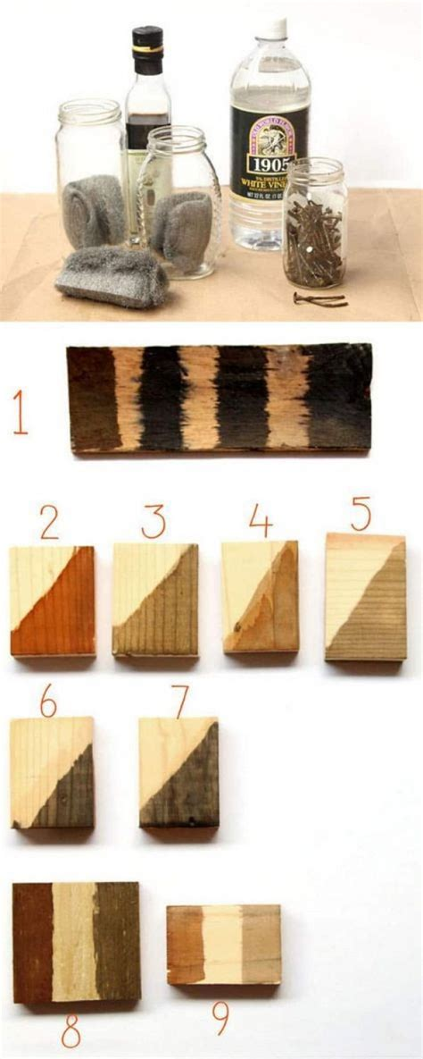 Quick Diy Wood Stain
