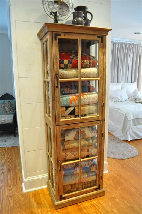 Quilt Curio Cabinets