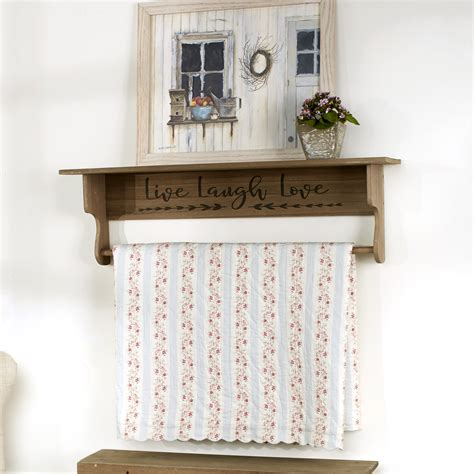 Quilt Racks Wall Mount Plansource