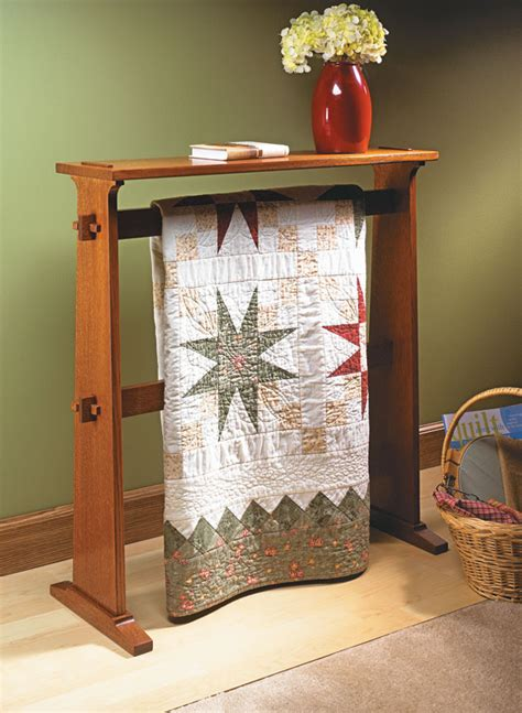 Quilt-Display-Stand-Plans