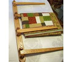Best Quilt hanger shelf plans