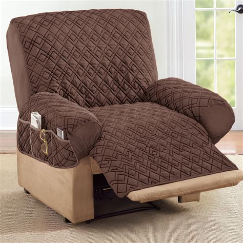 Quilted Recliner Chair Covers