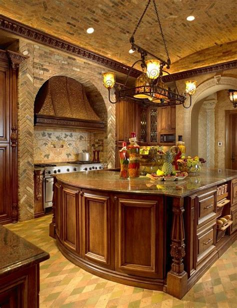 Quirky Tuscan Kitchen Design Ideas