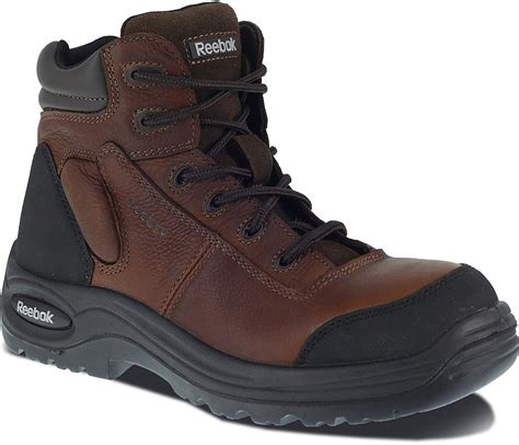 RB7755 Reebok Men's Sport Comp Safety Boots - Brown - 16.0 - M