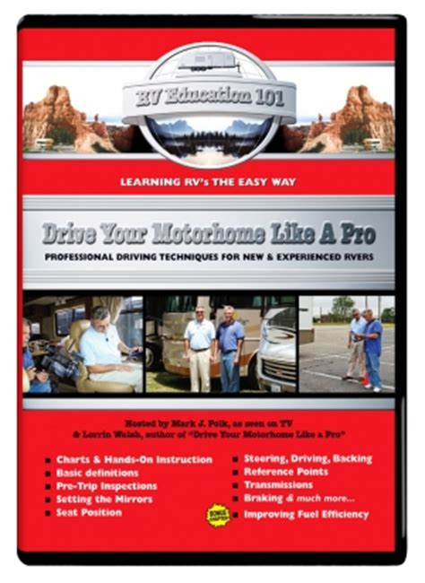 [click]rv Education 101  Drive Your Motorhome Like A Pro Video .