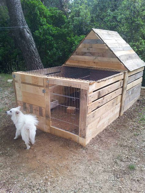 Rabbit House Plans With Pallets
