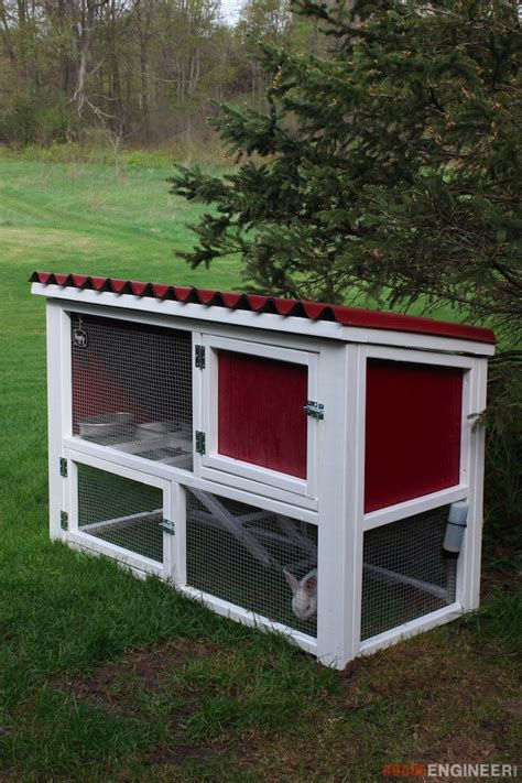 Rabbit Hutch Building Plans And Design