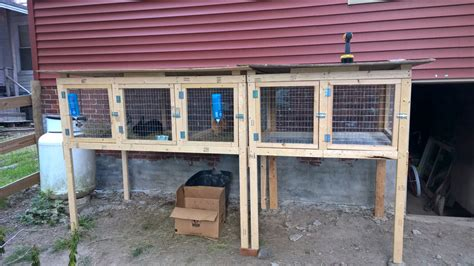 Rabbit Hutch Plans For Multiple Rabbits
