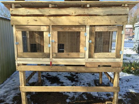 Rabbit Hutch Plans From Pallets
