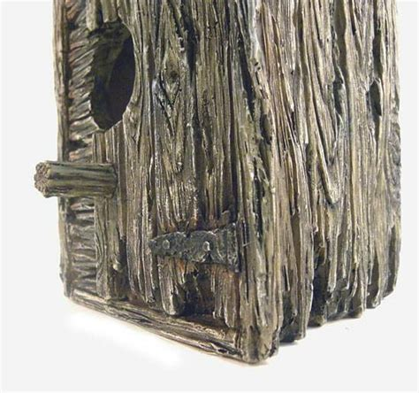 Raccoon Outhouse Birdhouse