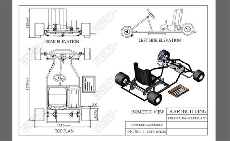 Racing Go Kart Building Plans